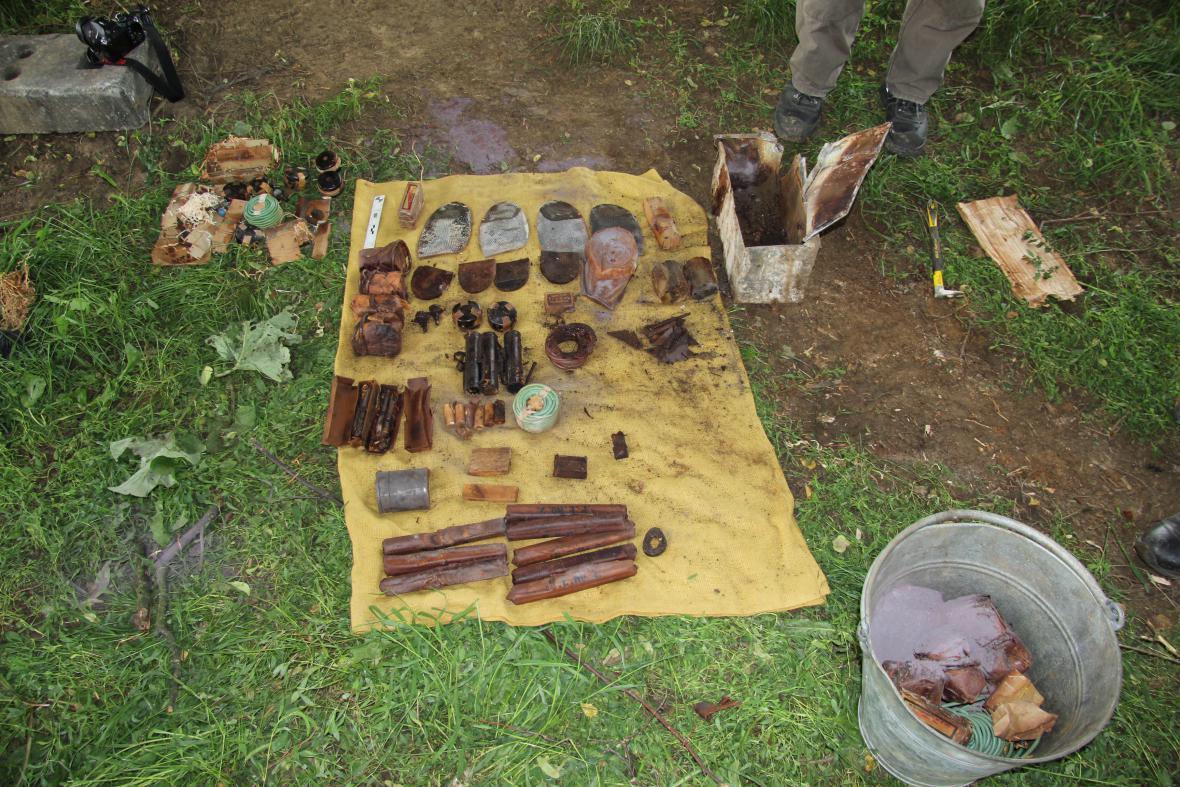V Uherském Hradišti se našly trhaviny z 2. světové války