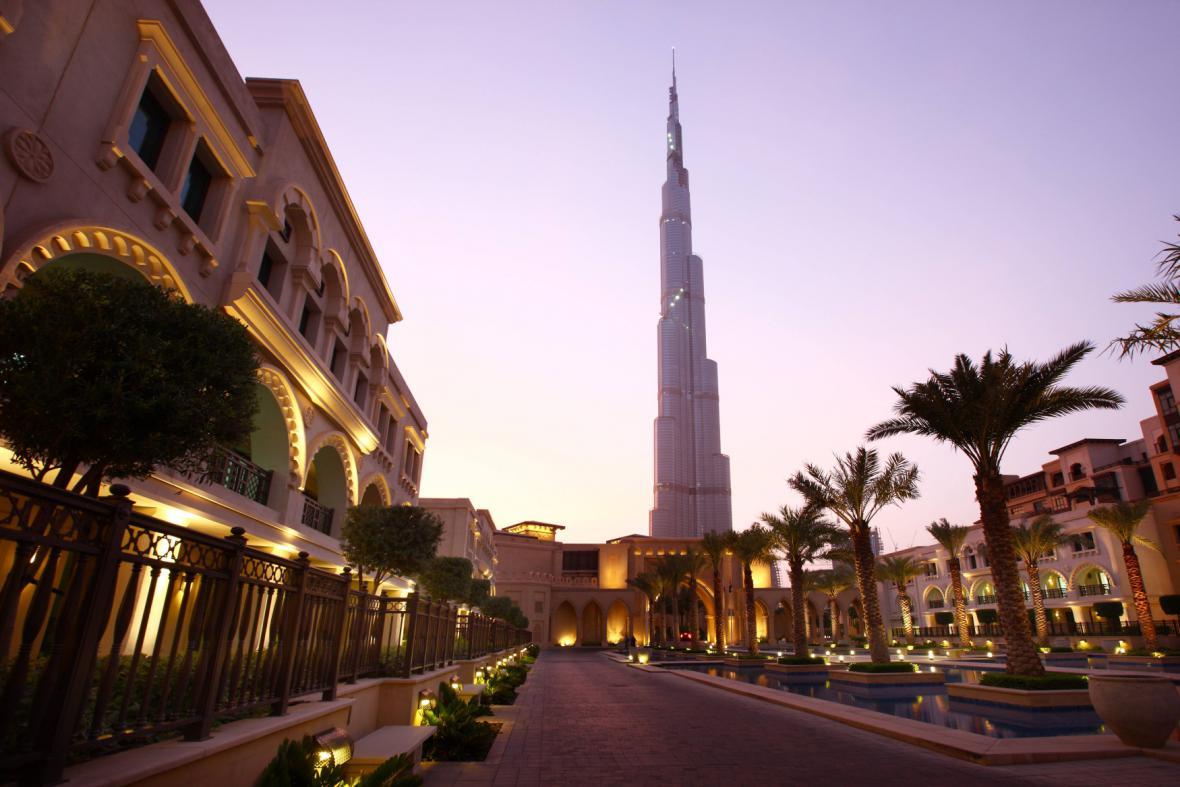 Nejvyšší budova světa v Dubaji