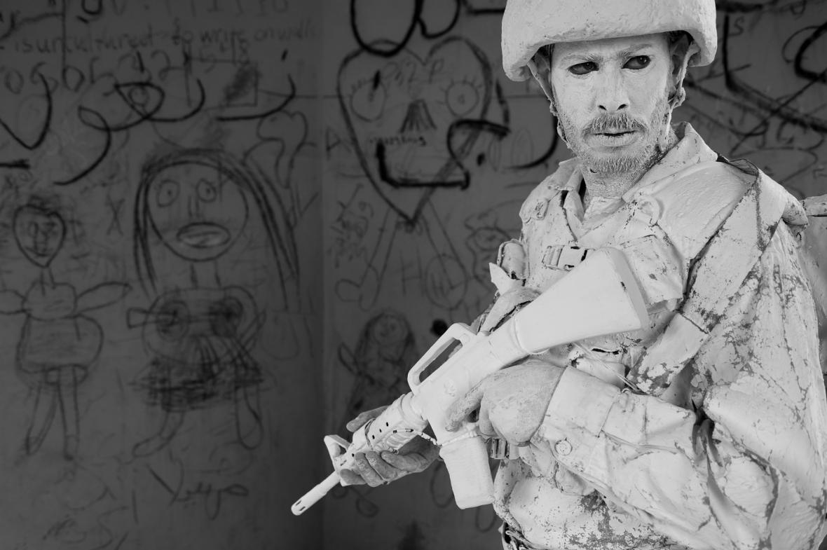 Yehuda Braun / White Soldier