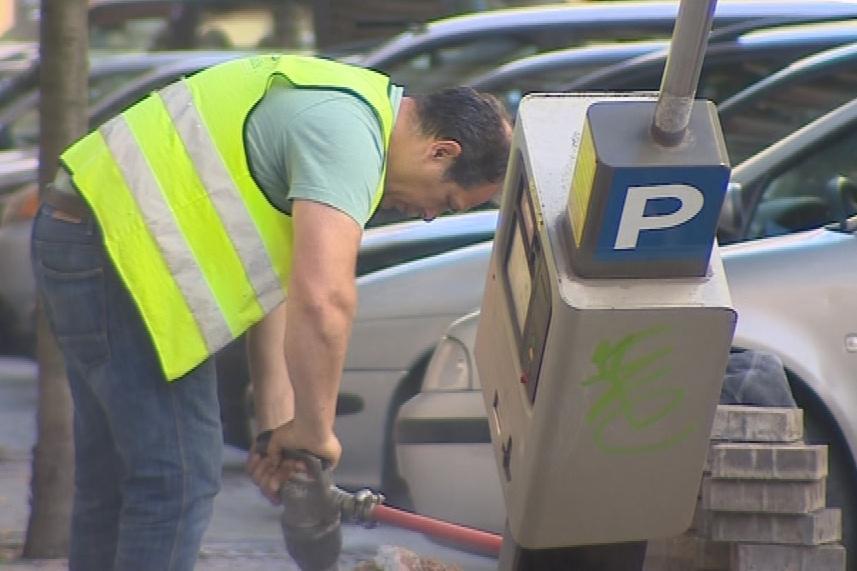 Do 19. června vymění postupně všechny parkovací automaty