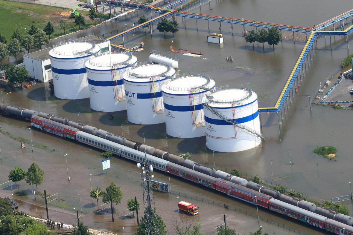 Zaplavený Magdeburg