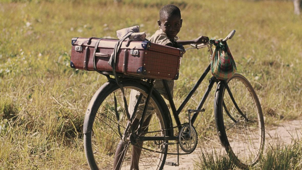 V Africe je kolo oblíbený dopravní prostředek