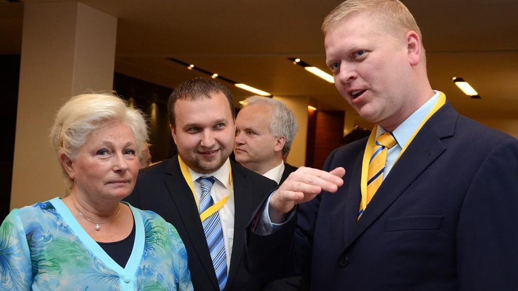 Zuzana Roithová, Marian Jurečka a Pavel Bělobrádek