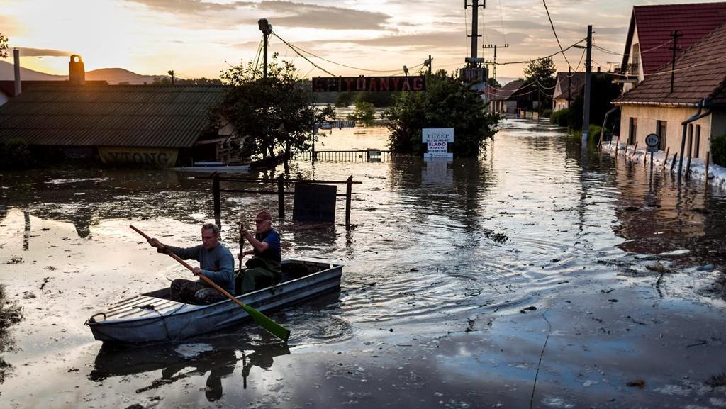 Povodně v Maďarsku