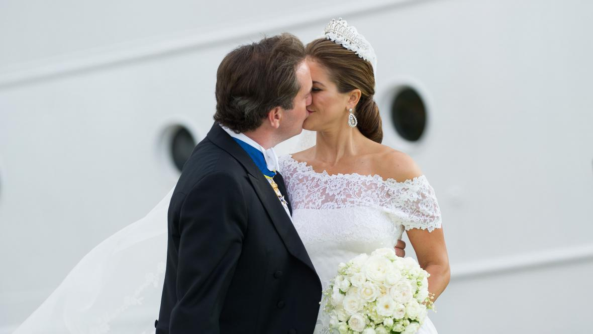 Svatba princezny Madeleine a Christophera O'Neilla