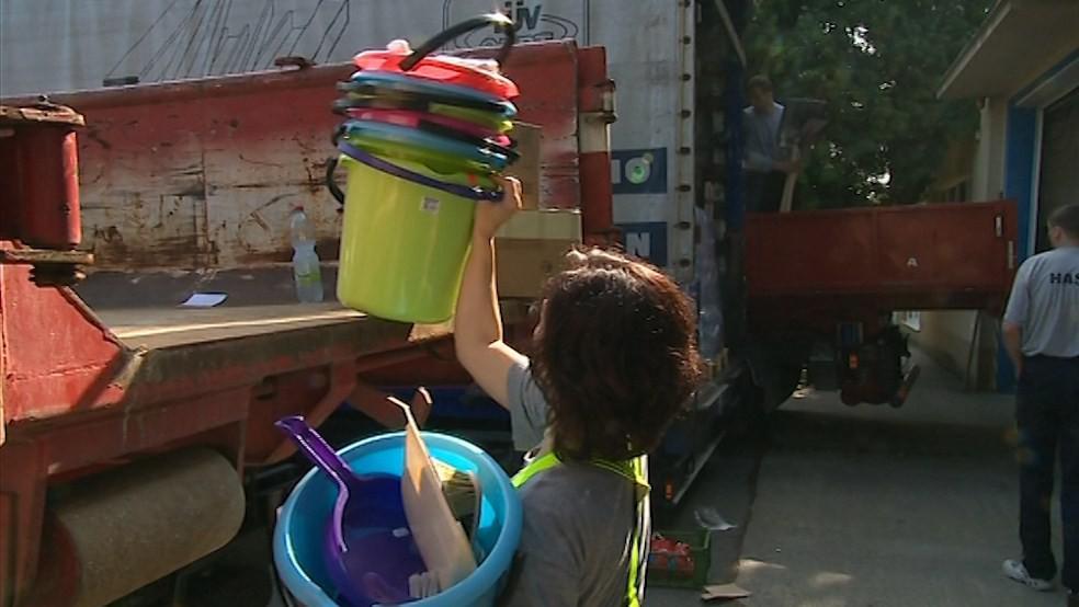 Humanitární pomoc je pro lidi ze zatopených oblastí důležitá