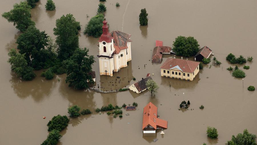 Povodně na Mělnicku