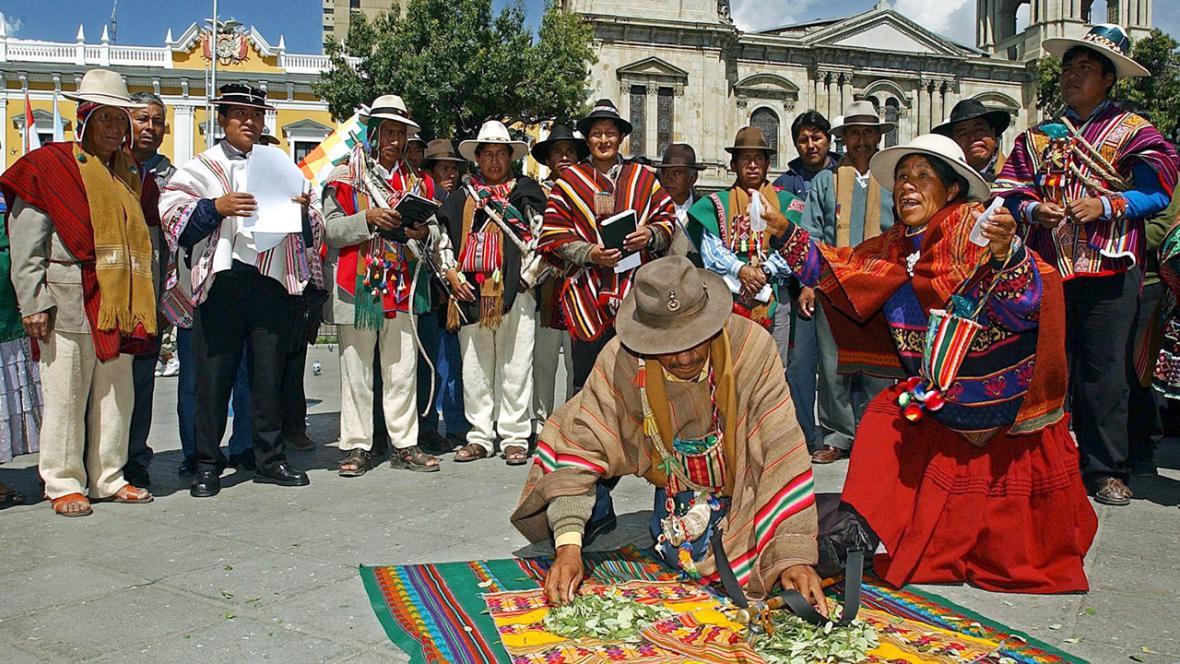 Bolivijští indiáni