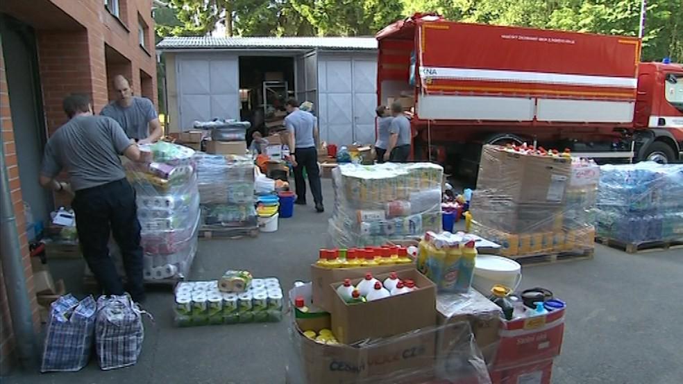 Sdružení Korunka Luhačovice i hasiči mají s povodněmi vlastní zkušenosti