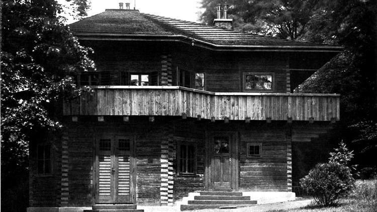 Zahradní domek pro Samuela Berana