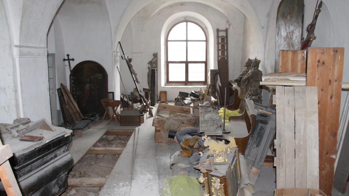 Depozitář Sázavského kláštera
