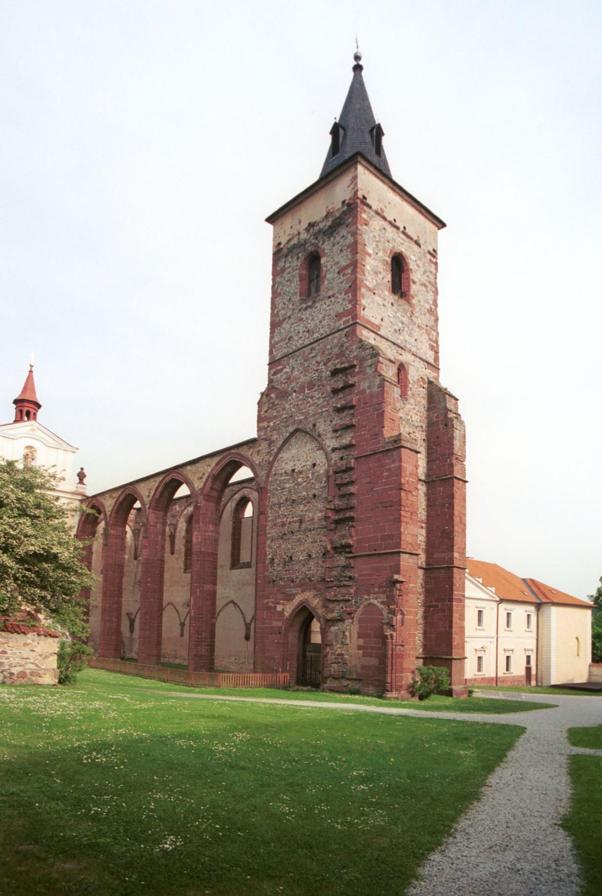 Sázava klášter - kostel svatého Prokopa