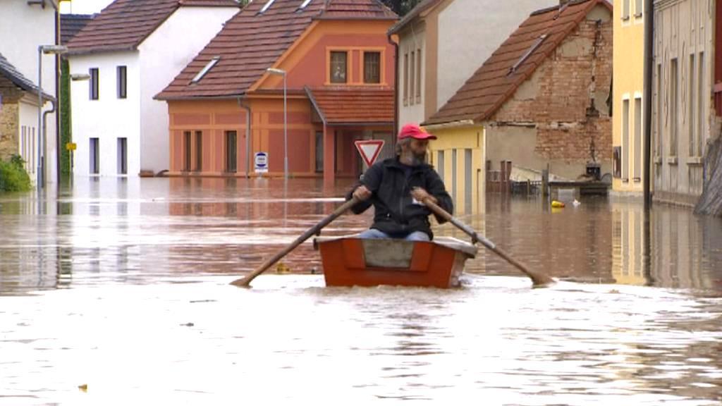 Povodňová hlídka v Nových Kopistech
