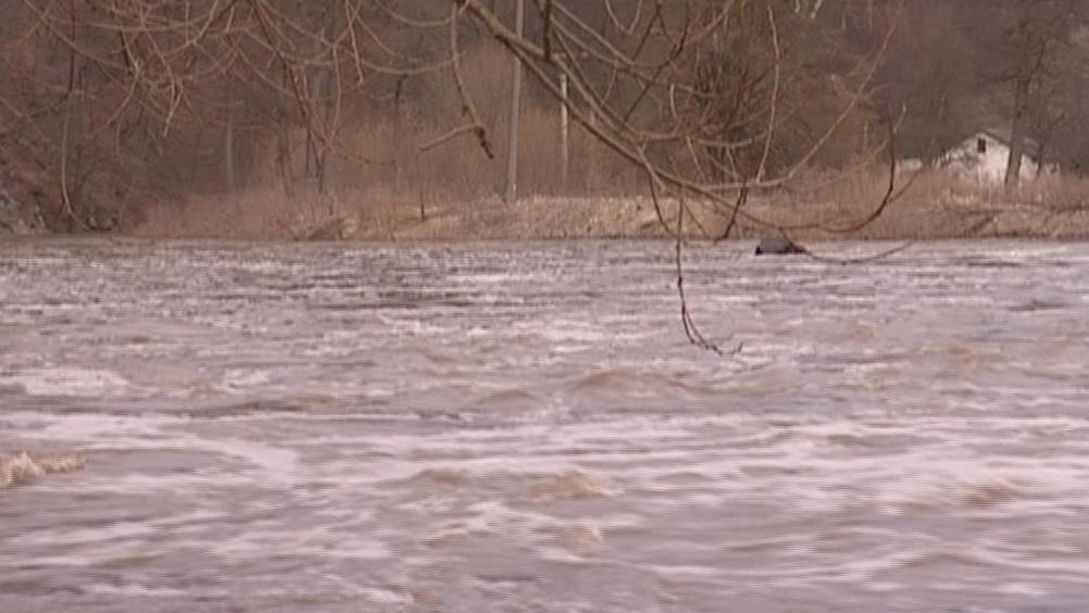Povodně v Podhradí nad Dyjí