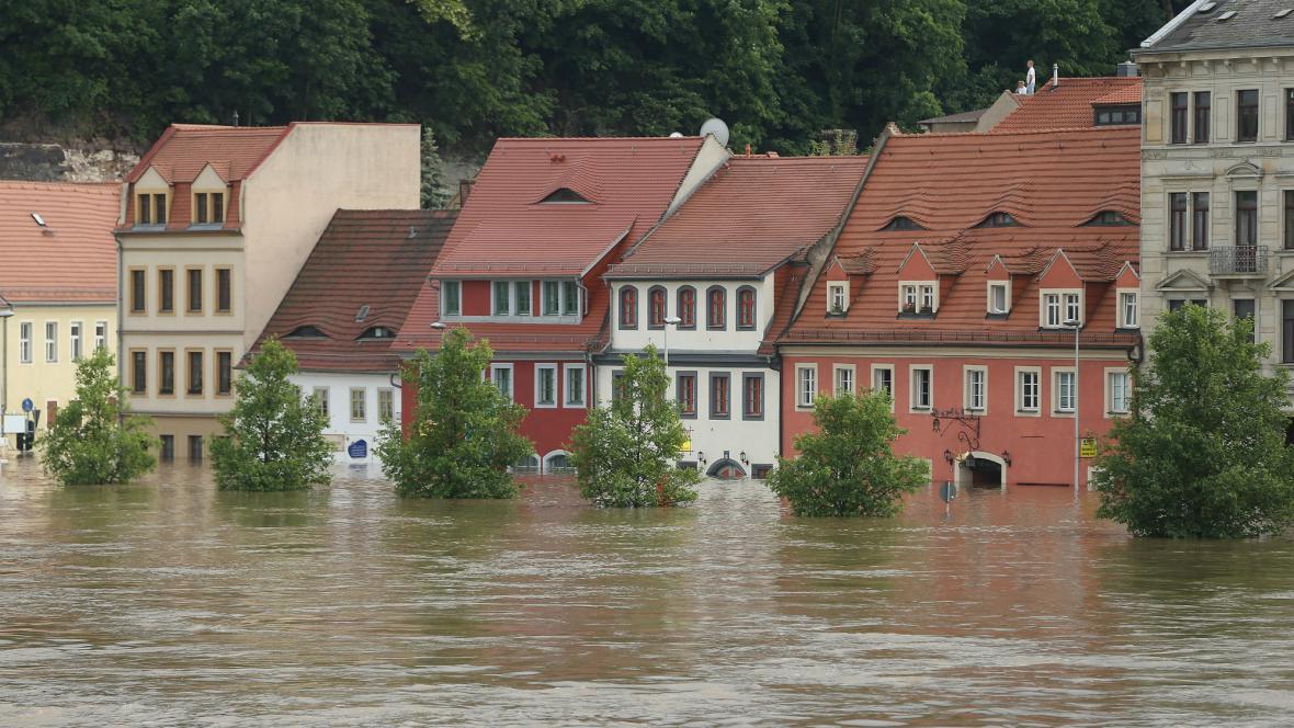 Zaplavená Míšeň
