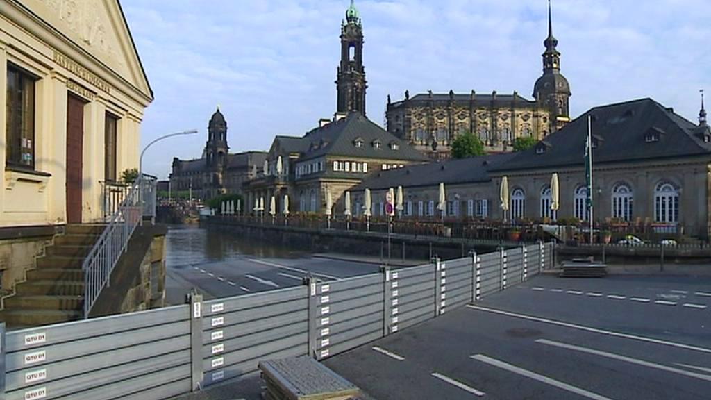 Protipovodňové bariéry v Drážďanech