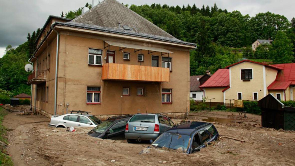 Povodně 2013 - KRNAP - Svoboda nad Úpou