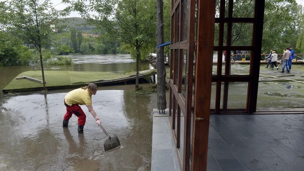 Povodně ve Žlutých lázních