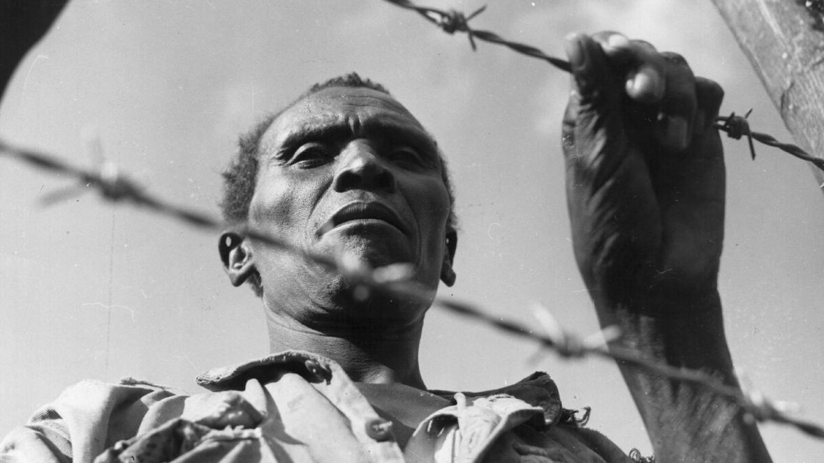 Vězněný voják hnutí Mau Mau