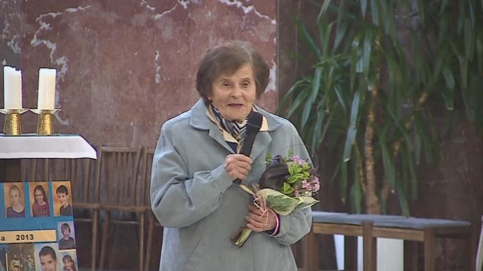 Varhanistka Alena Veselá