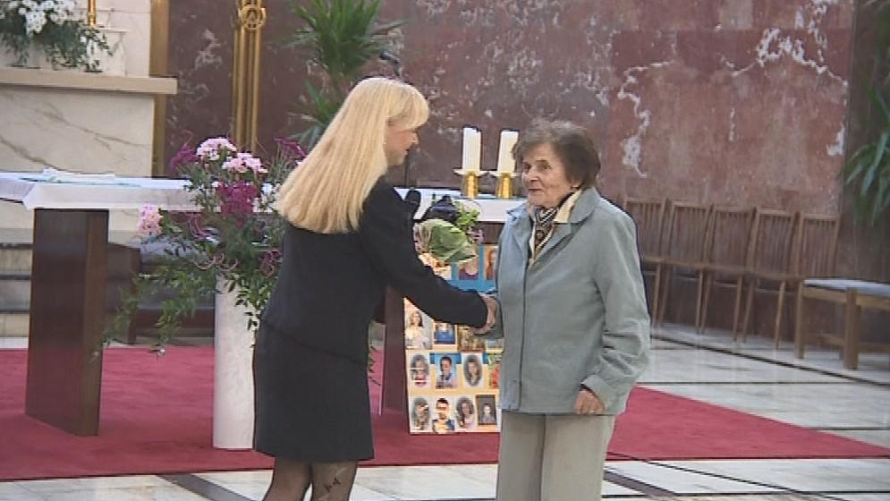 Aleně Veselé k narozeninám popřáli i organizátoři Brněnského varhanního festivalu