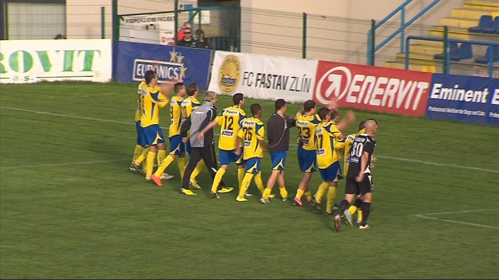 Fotbalisté Zlína skončili ve Fotbalové národní lize šestí