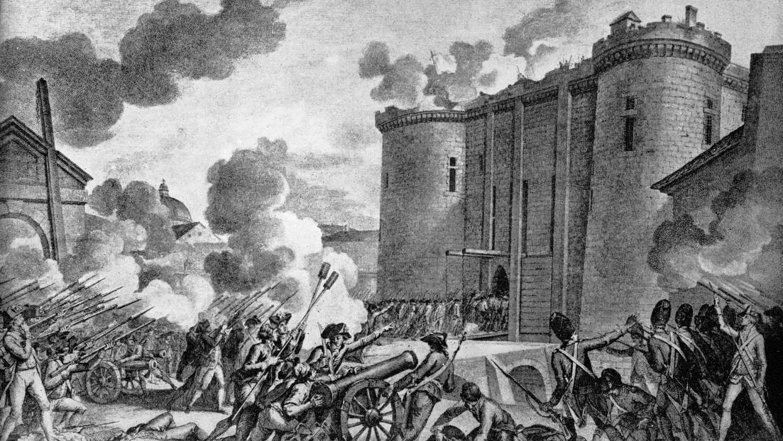 Dobytí Bastilly 14. července 1789