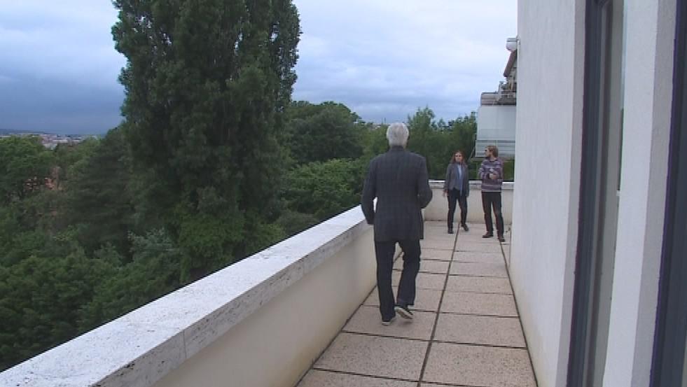 Architekt Dirk Lohan se přijel podívat na vilu Tugendhat po rekonstrukci
