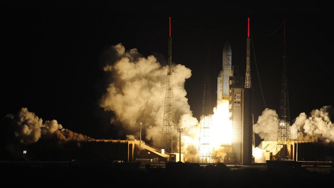Raketa Ariane 5 startuje