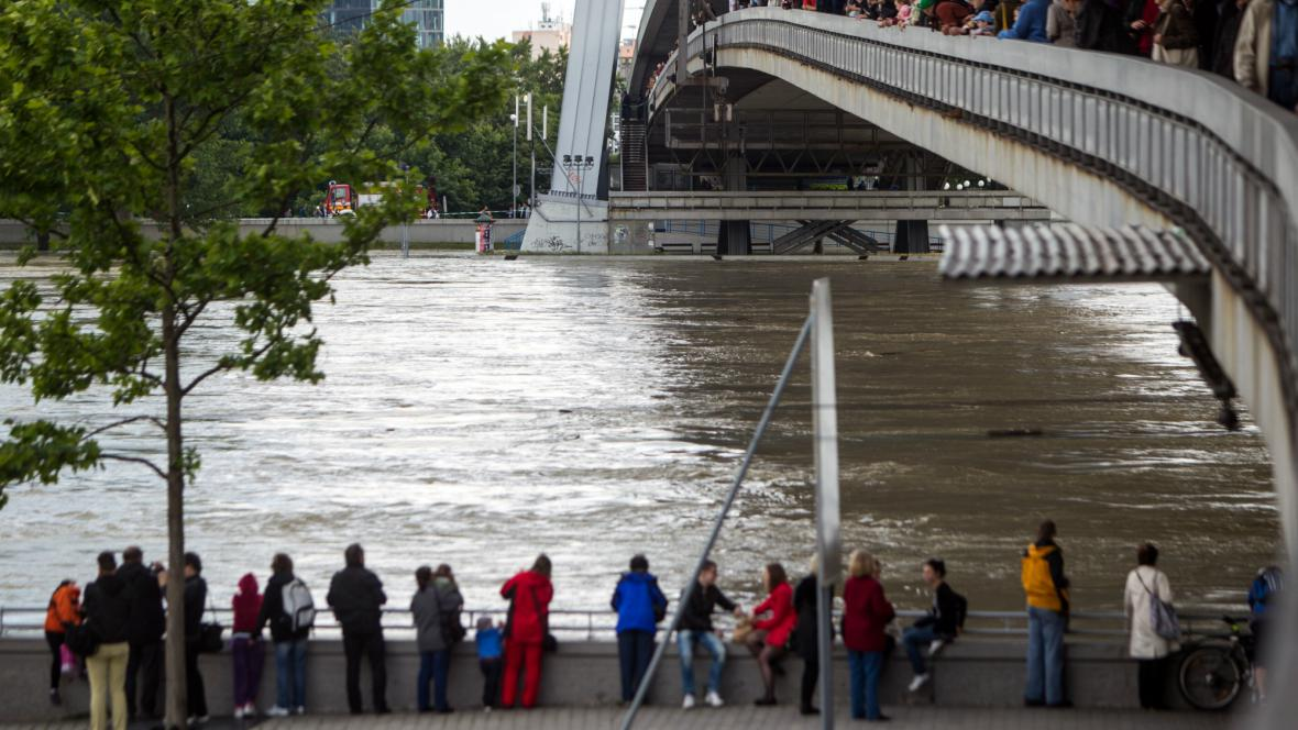 Dunaj zlomil v Bratislavě historické rekordy
