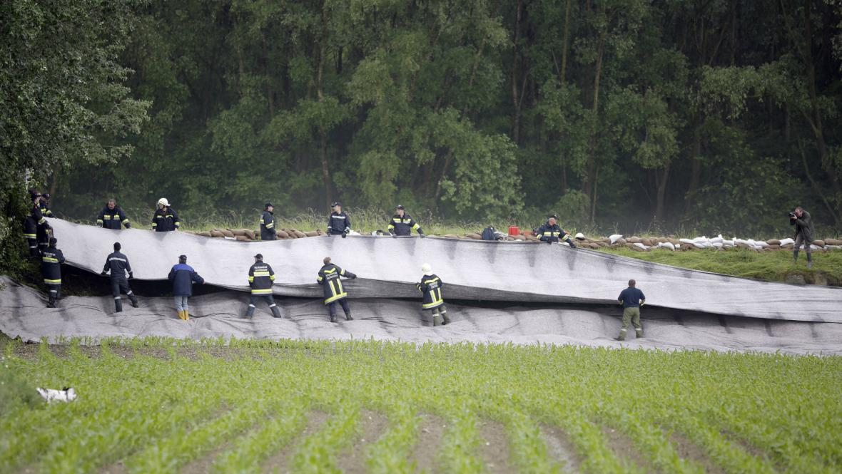 Povodně v Rakousku