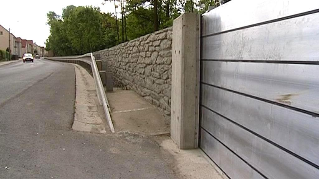 Protipovodňová zeď