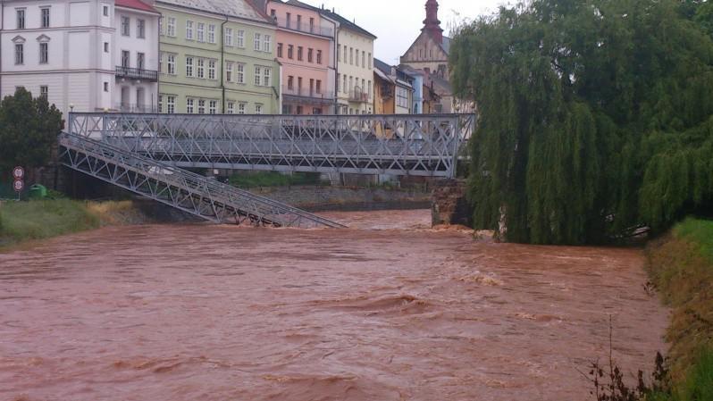 Jaroměř - most přes Labe