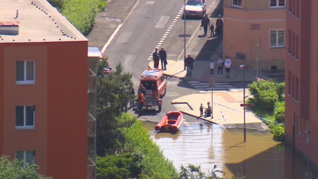 Povodeň ve Střekově