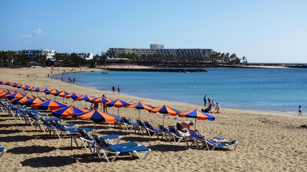 Pláže na Lanzarote