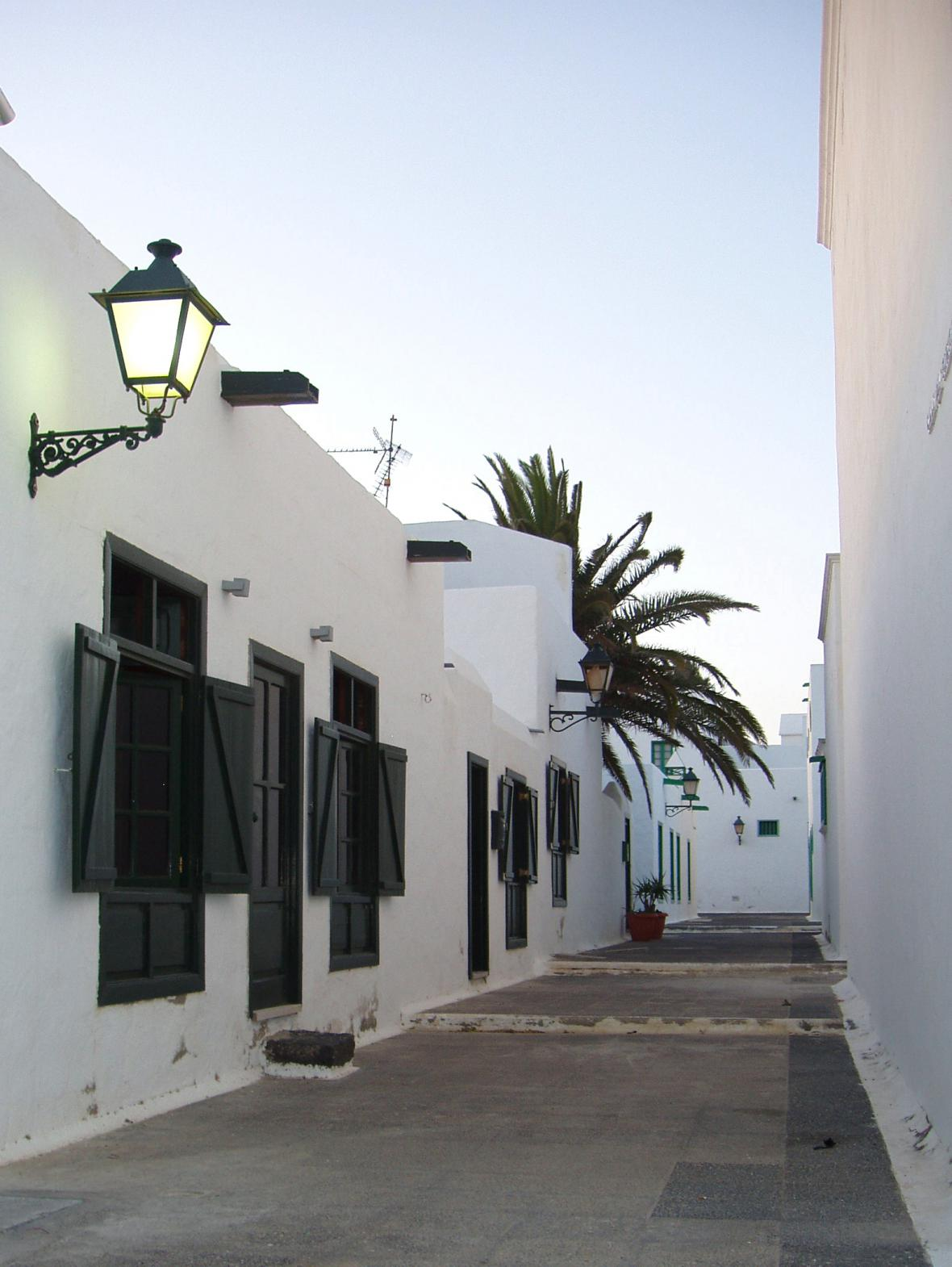 Ulička na Lanzarote