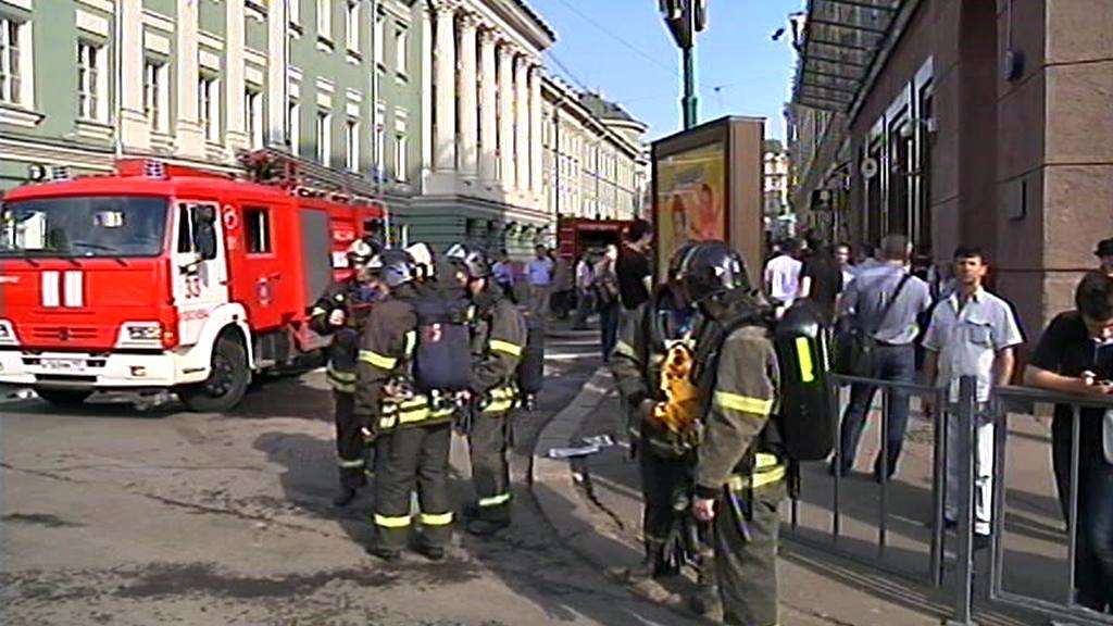 Moskevští hasiči
