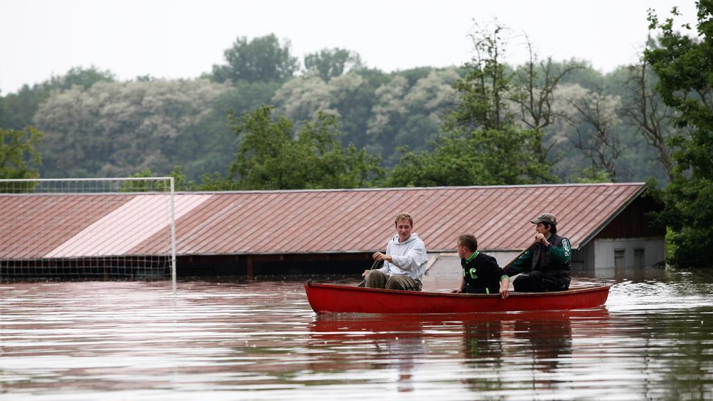 Povodeň na Mělnicku