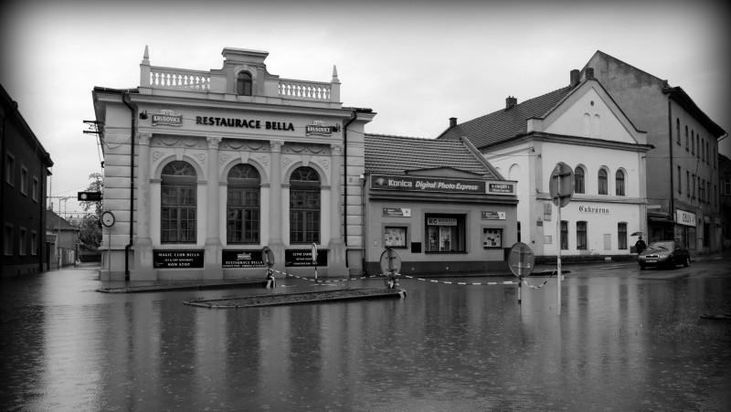 Kralupy nad Vltavou, nově opravená restaurace Bella