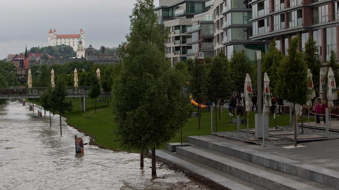Záplavy v Bratislavě