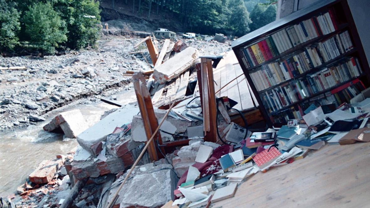 Povodně v Kounově