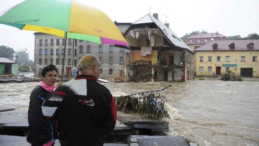 Záplavy v Chrastavě