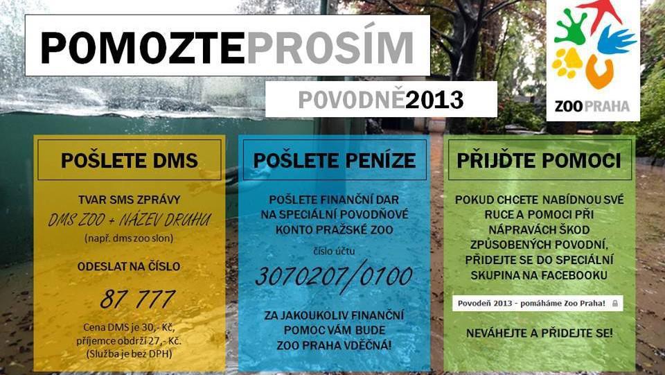 Pomoc pro pražskou zoo