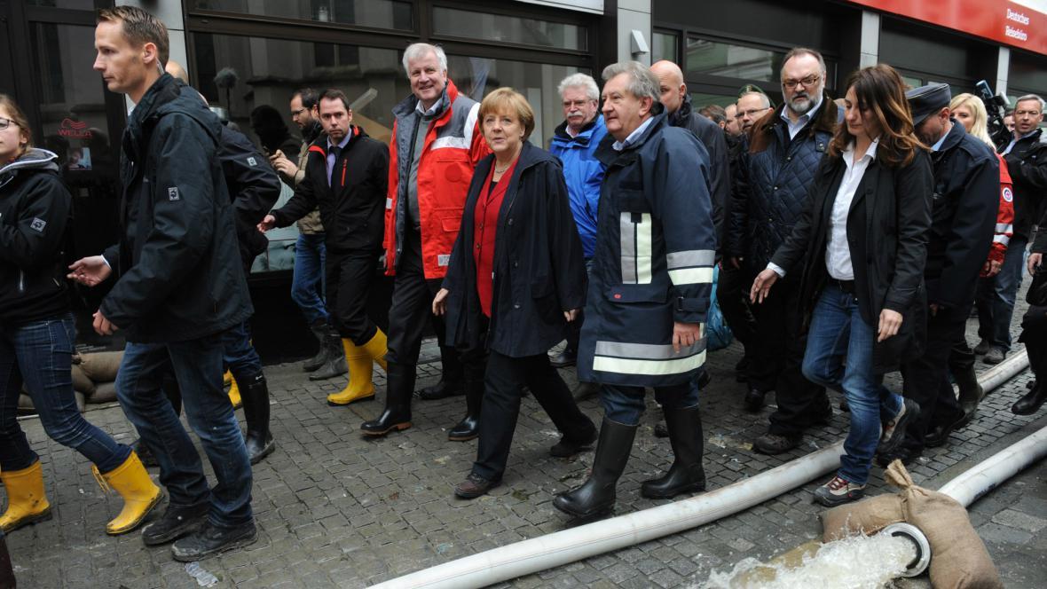Angela Merkelová navštívila Pasov