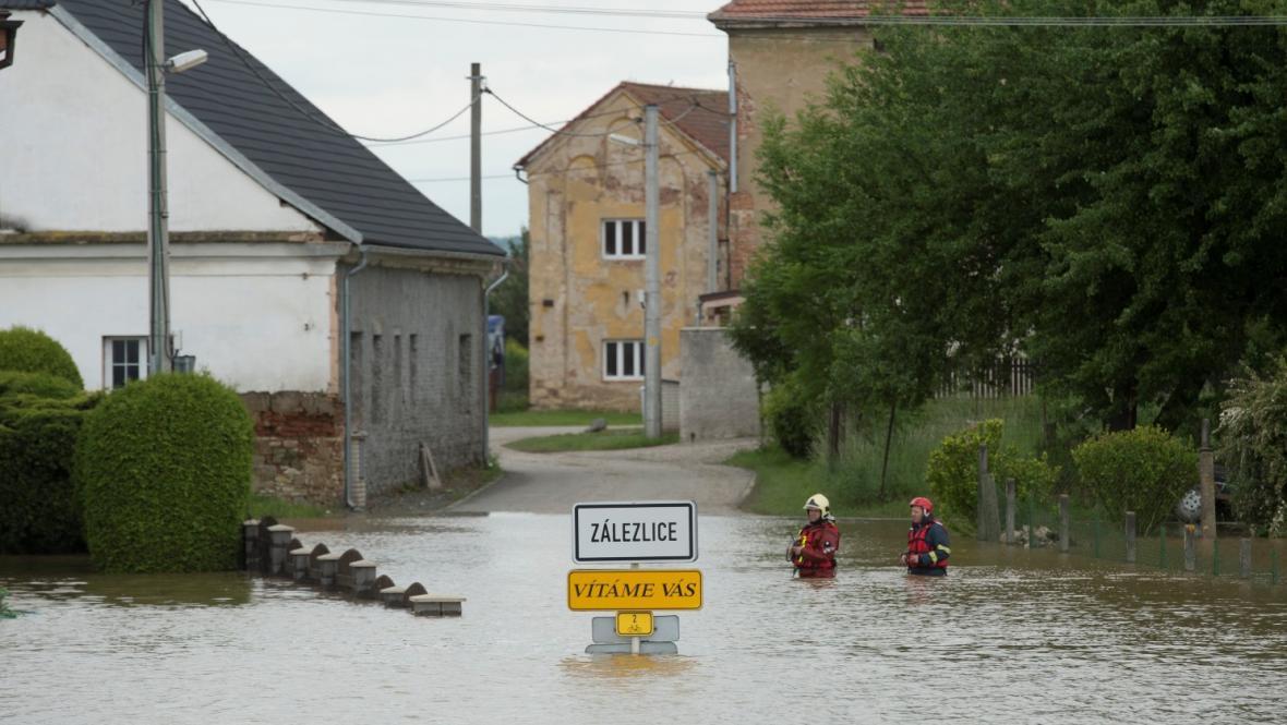 Zaplavené Zálezlice