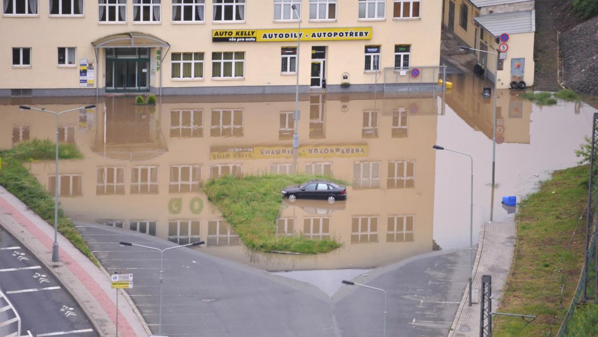 Podbabská ulice v Praze