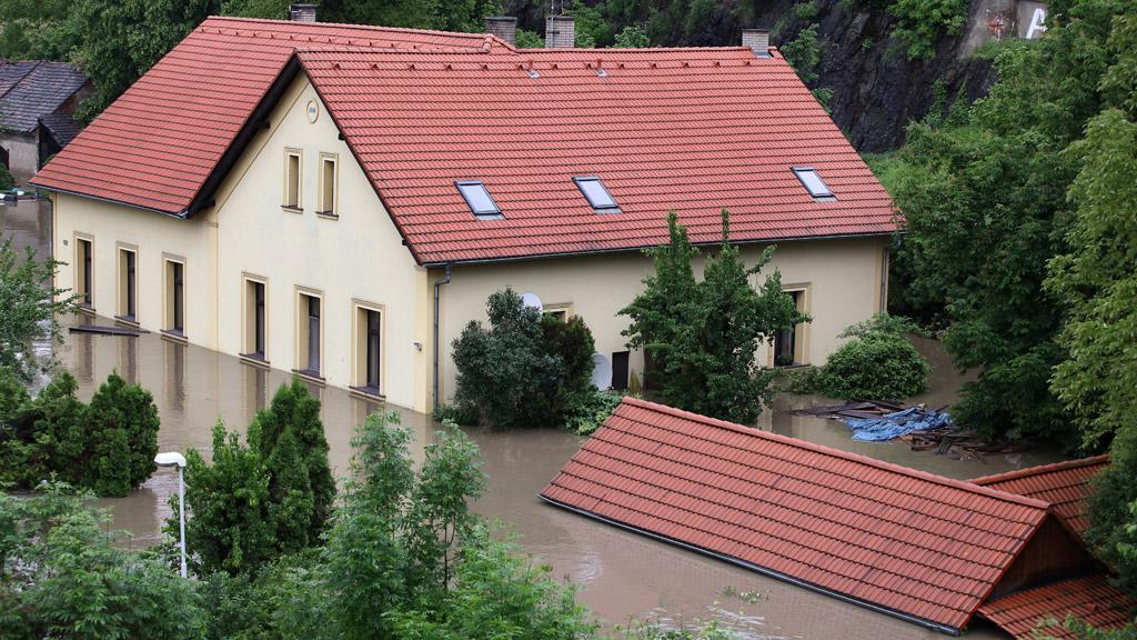 Povodně na Zbraslavi