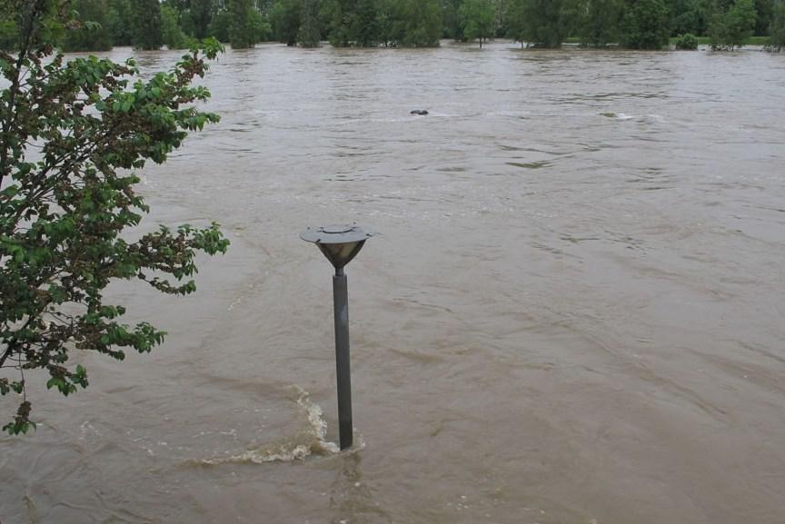 Povodeň v Holešovicích