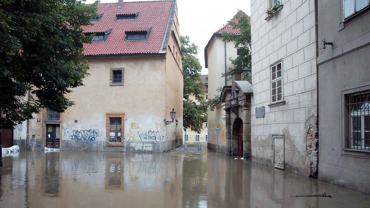 Zaplavená Praha - srpen 2002