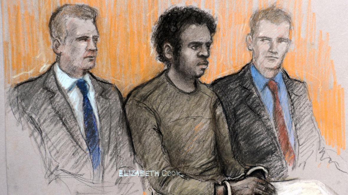 Michael Adebowale u soudu